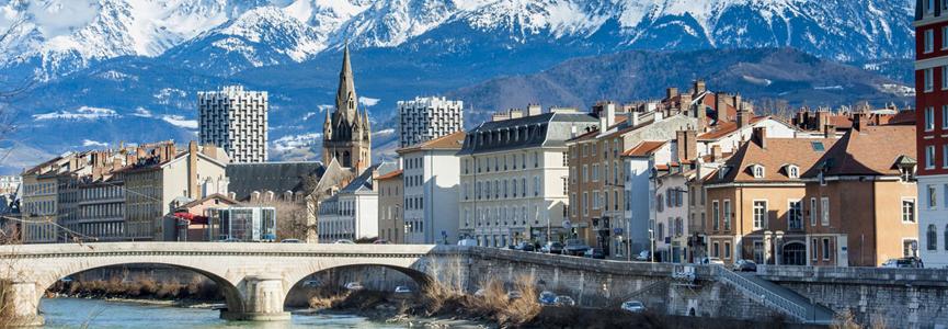 Grenoble ville de France